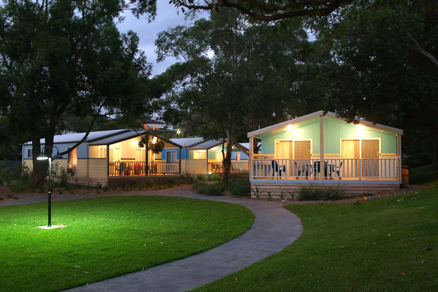 Kiama Accommodation Kendalls Beach Cabins Caravan Park