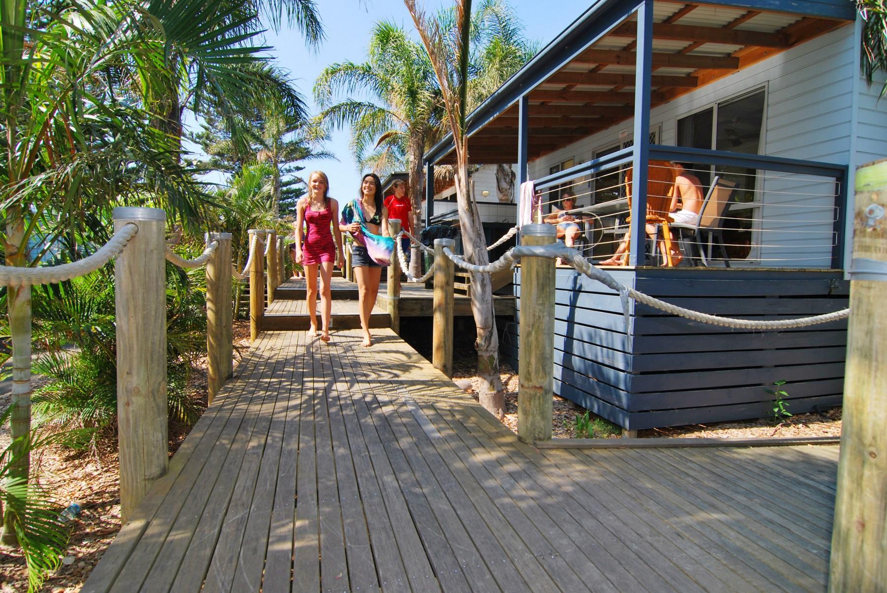 Surf Beach Holiday Park Accommodation Kiama Nsw South Coast