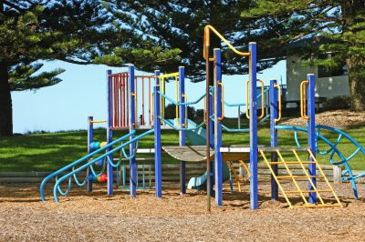 Playground-adjacent-to-the-Park-overlooking-the-Ocean