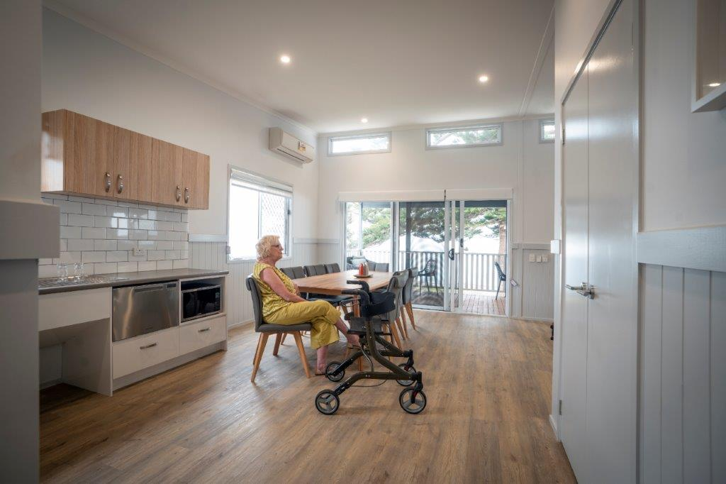 Accessible cabin